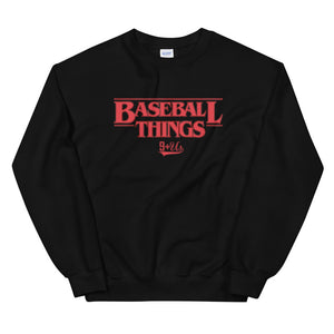 Baseball Things Sweatshirt - Black