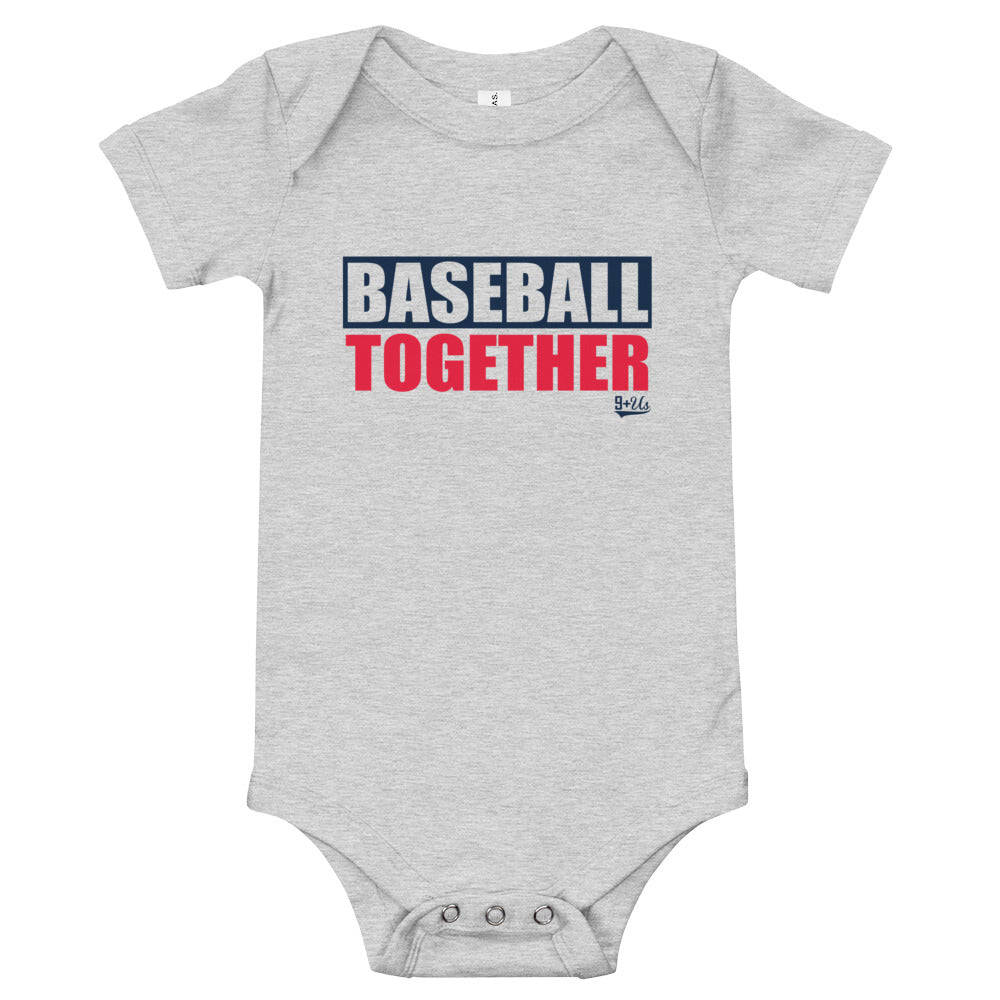 Cleveland Onesie Baseball Together - Away