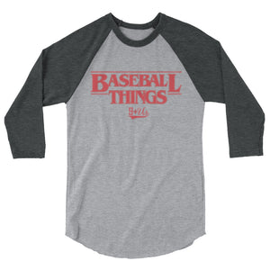 Baseball Things Baseball Tee - Heather Grey/Heather Charcoal