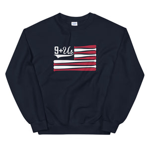 Bat Flag Sweatshirt