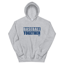 Load image into Gallery viewer, Official Baseball Together Podcast Hoodie - Grey