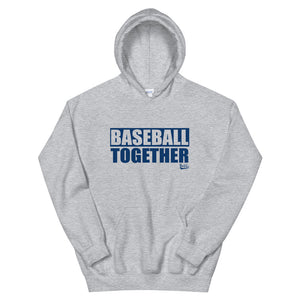 Official Baseball Together Podcast Hoodie - Grey