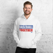 Load image into Gallery viewer, Official Baseball Together Podcast Hoodie - Model Men's