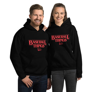Baseball Things Hoodie - Models