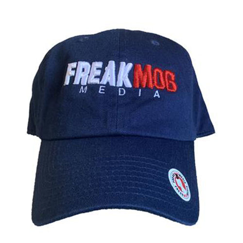 FREAKMob - Dad Hat - Navy Blue