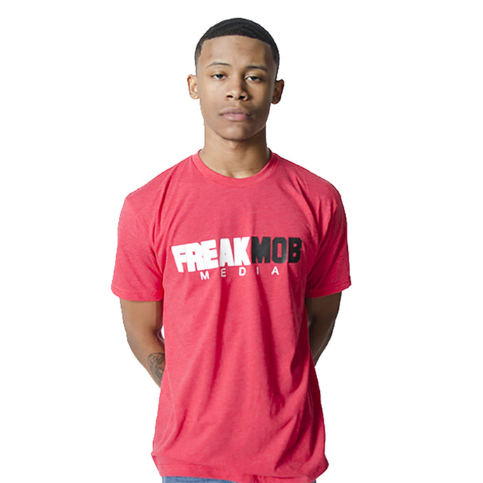 OG FREAKMob Media T-Shirt - Red