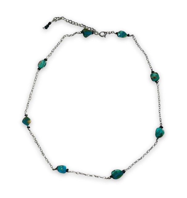 Nice 'n Blue Peruvian Opal Necklace