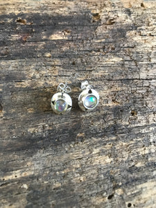 Which Way is up Opal Earrings