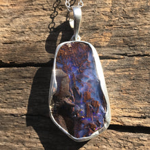 Load image into Gallery viewer, Pools of Blue Opal Necklace