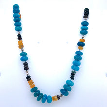 Load image into Gallery viewer, Out of the Blue Opal Necklace