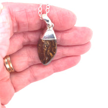 Load image into Gallery viewer, Nestled in the Wood Opal Necklace