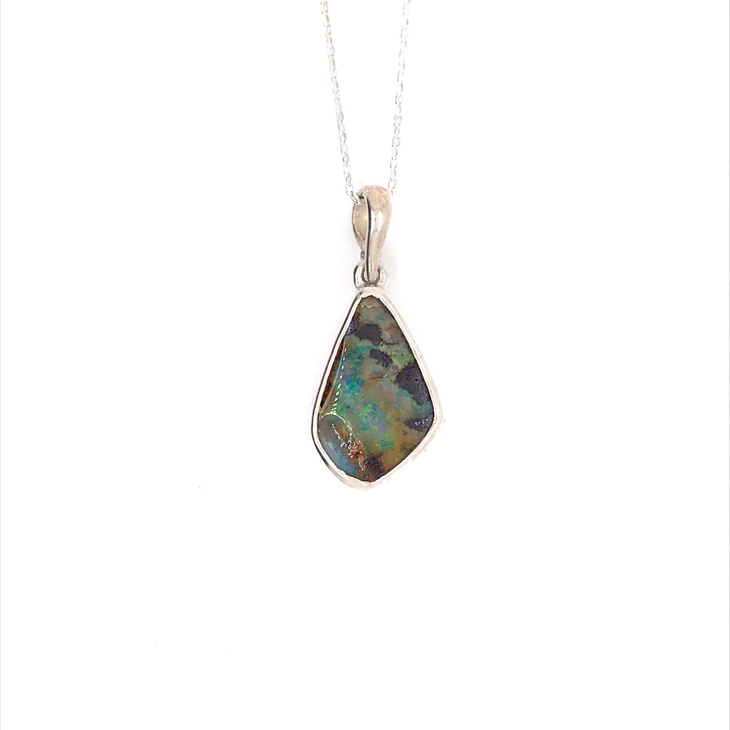 See the Light Opal Necklace