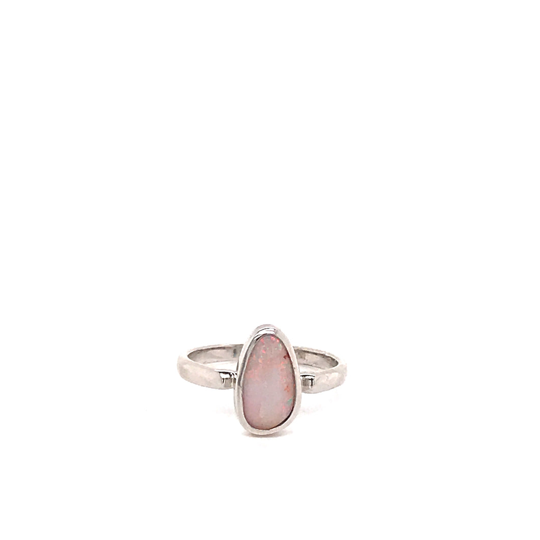 Pretty, Pink and Petite Opal Ring