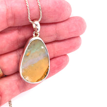 Load image into Gallery viewer, Layers of Day Boulder Opal Necklace
