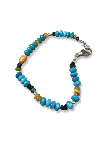 Out of the Blue Opal Bracelet
