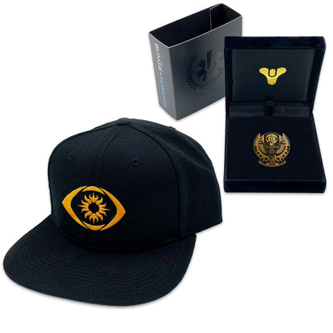 PREORDER: Bungie Rewards Trials of Osiris Hat and Flawless Pin Bundle