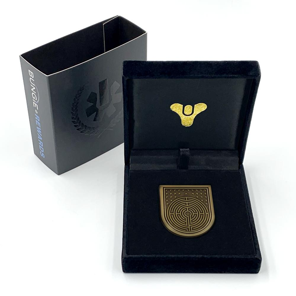 PREORDER: Bungie Rewards Forerunner Seal Collectible Medallion Pin