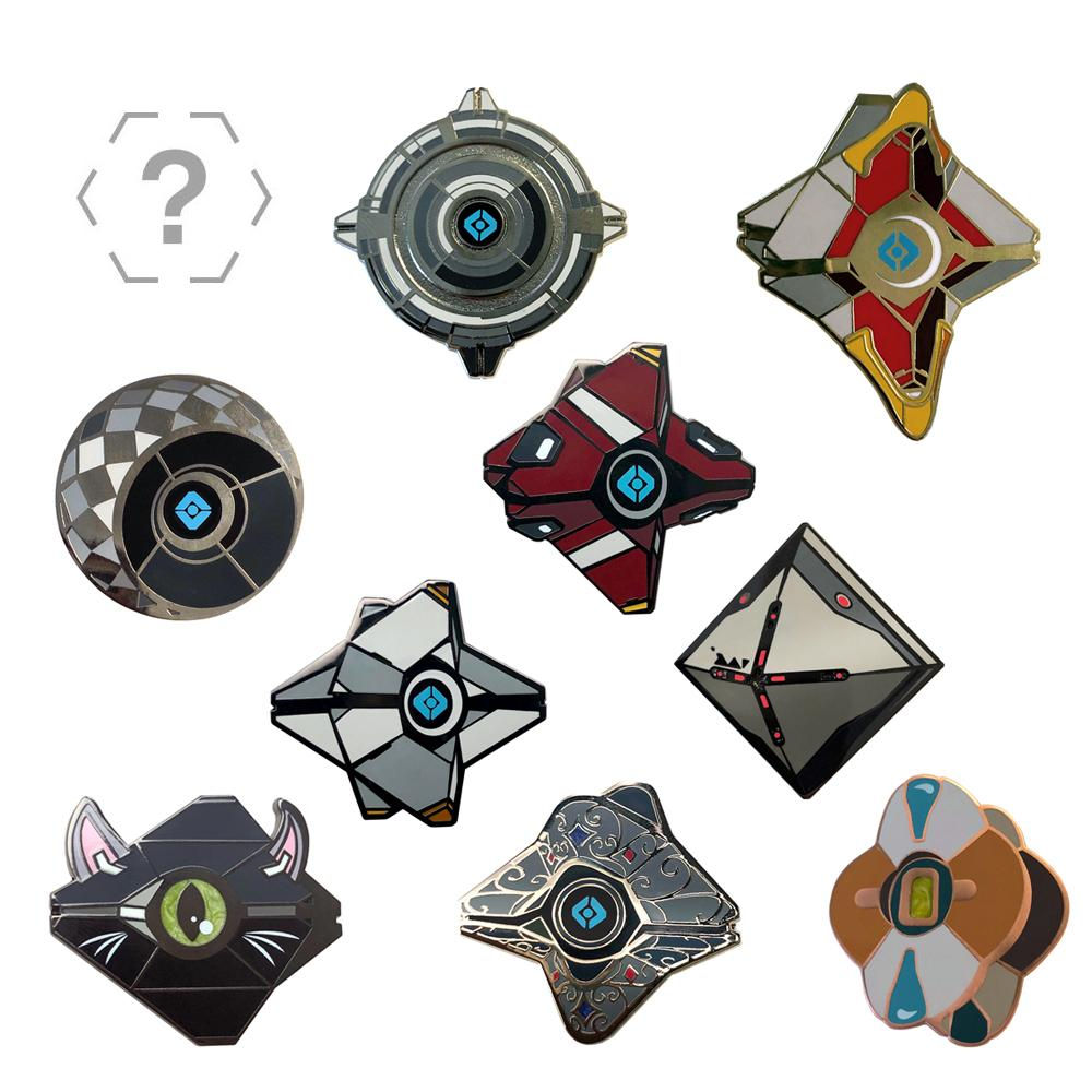 The Armory Series 3 Ghost Collectible Pin with Emblem