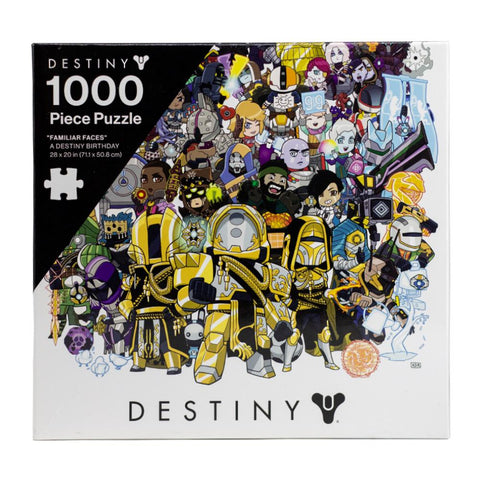 """Familiar Faces"" A Destiny Birthday Puzzle"