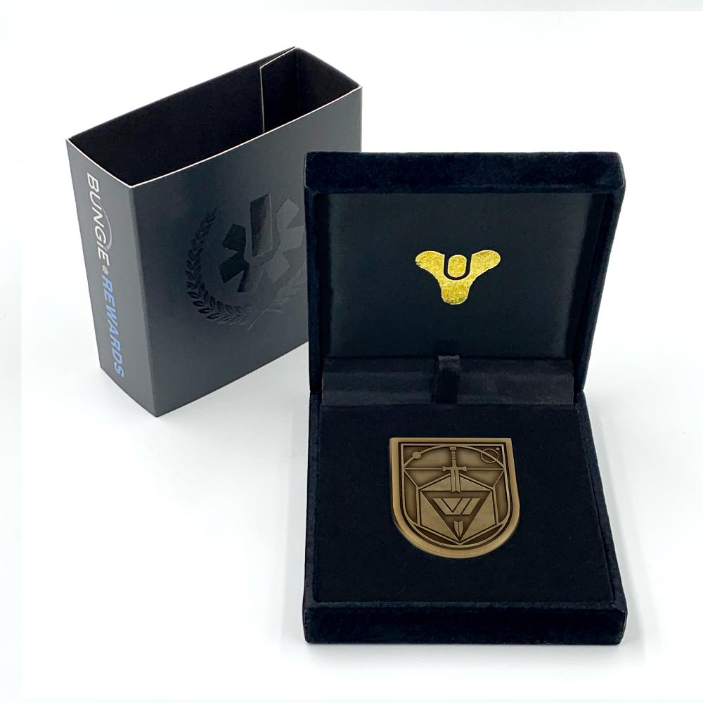 PREORDER: Bungie Rewards Conqueror Seal Collectible Medallion Pin