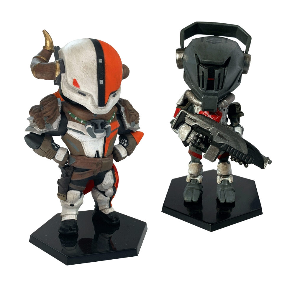 Destiny Vinyl Figure - Lord Shaxx and Redjack