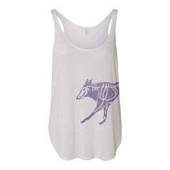 Two-Tailed Fox Tank Top