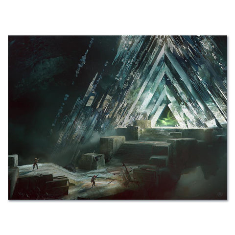 PREORDER: BUNGIE REWARDS 2021 VAULT OF GLASS ART PRINT