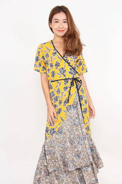 Zella Wrap Out Floral Dress