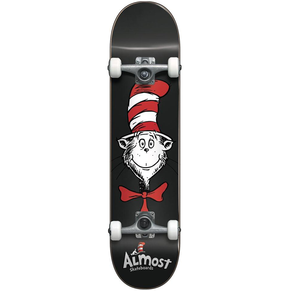 Almost Cat In The Hat Face complete skateboard 7.875