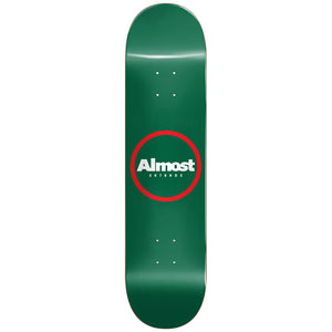 Almost Red Ring Green deck 8""