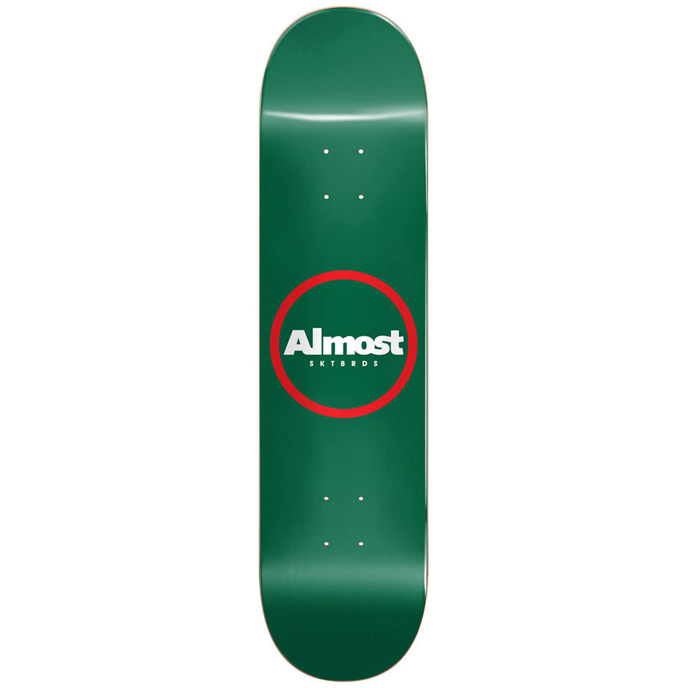 Almost Red Ring Green deck 8