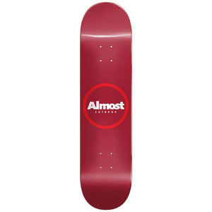 Almost Red Ring Red deck 8.25""