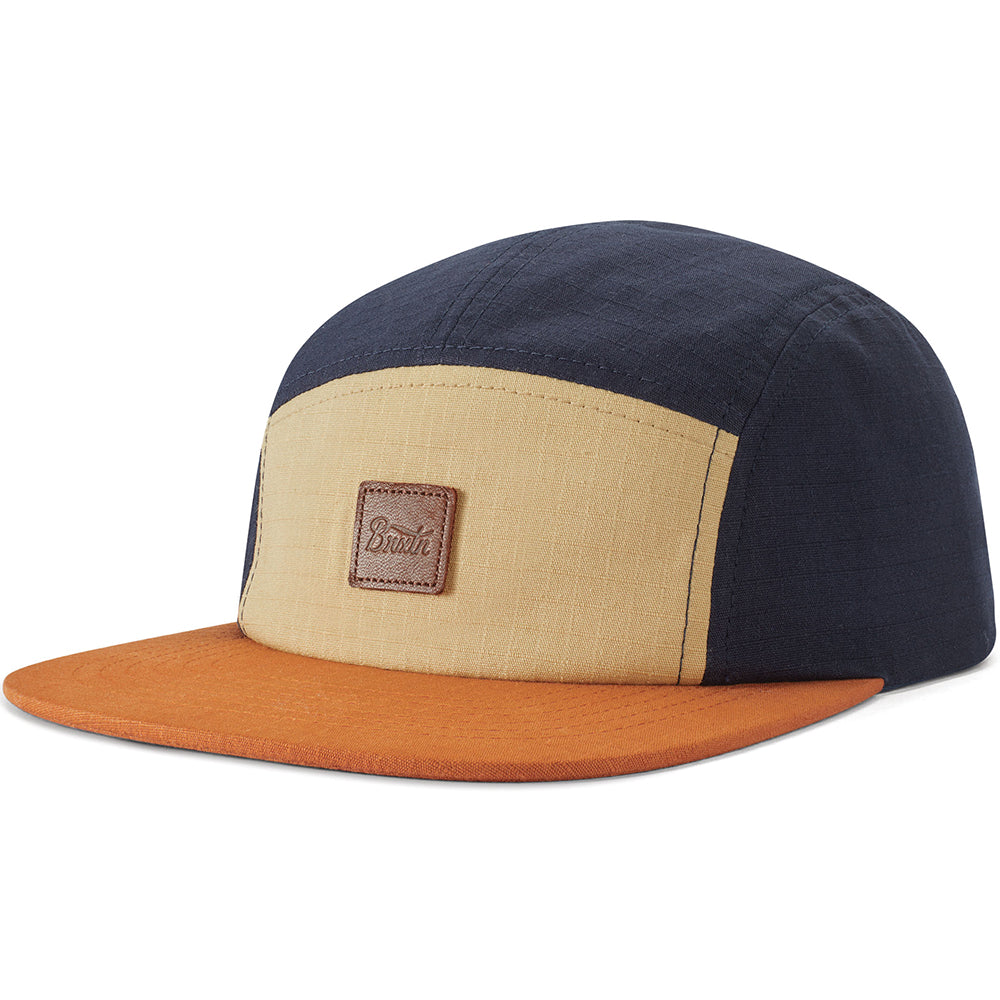 Brixton Stith LP Camper gravel/amber/washed navy