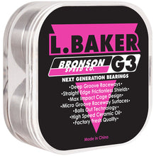 Load image into Gallery viewer, Bronson Speed Co. L. Baker Pro G3 bearings