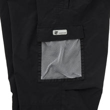 Load image into Gallery viewer, Bronze Mesh Cargo Pants black