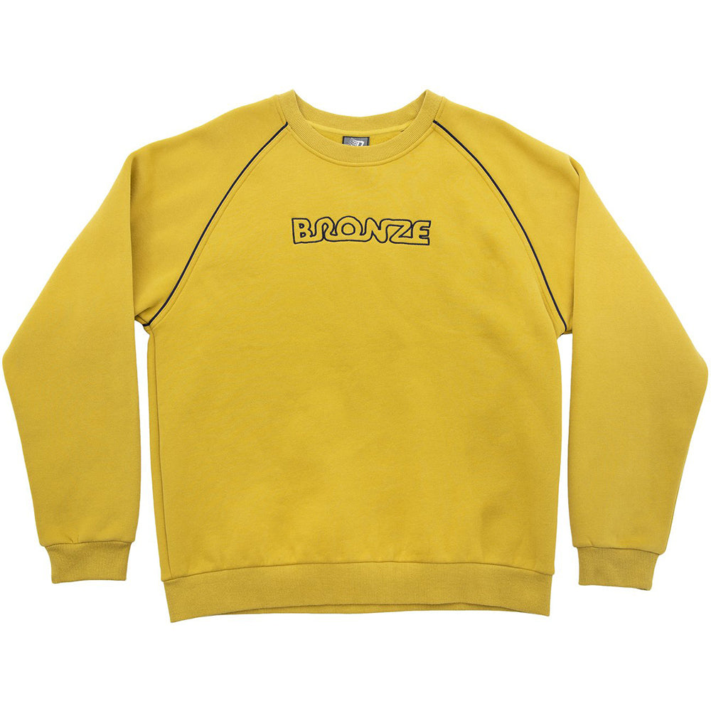 Bronze Pipe Crewneck chartreuse