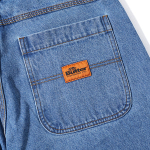 Butter Goods Philly Santosuosso Denim Pants washed indigo