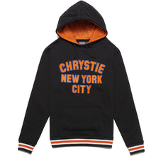 Load image into Gallery viewer, Chrystie Varsity Logo Pullover Hood black