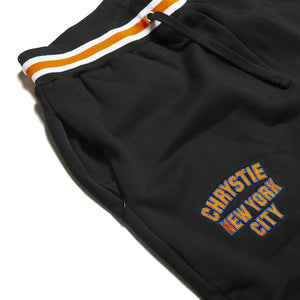 Chrystie Varsity Logo Sweatpants black