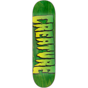 Creature Logo Stump deck 8.5""