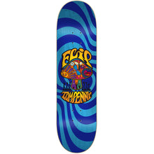 Load image into Gallery viewer, Flip Tom Penny Love Shroom Stained Blue deck 8""