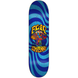 Flip Tom Penny Love Shroom Stained Blue deck 8""
