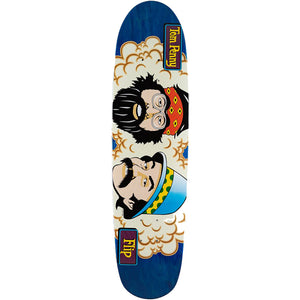 Flip Tom Penny Tom's Friends Stained Blue deck 7.94""