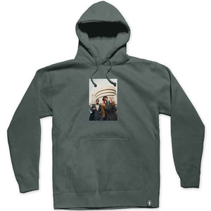 Girl Beastie Boys Spike Jonze Pullover Hood alpine green