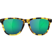 Load image into Gallery viewer, Glassy Deric sunglasses tortoise/green mirror