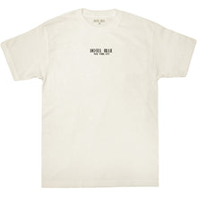 Load image into Gallery viewer, Hotel Blue Logo Tee cream