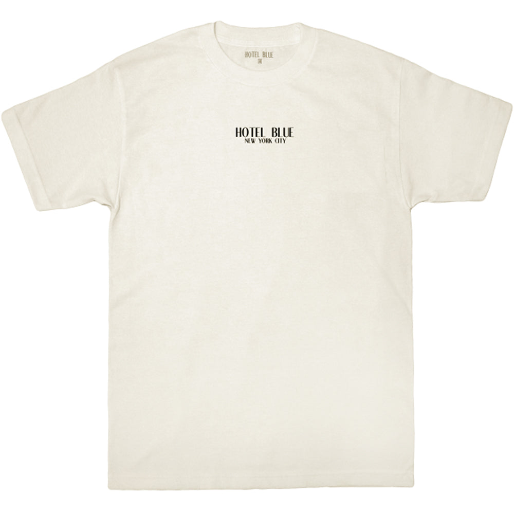 Hotel Blue Logo Tee cream