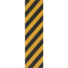 "Load image into Gallery viewer, Jessup Griptape Colours black/yellow stripe sheet 9"" x 33"""
