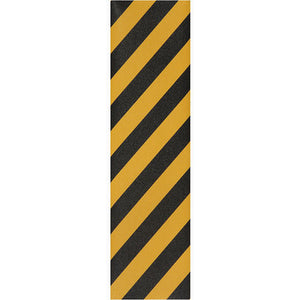 "Jessup Griptape Colours black/yellow stripe sheet 9"" x 33"""