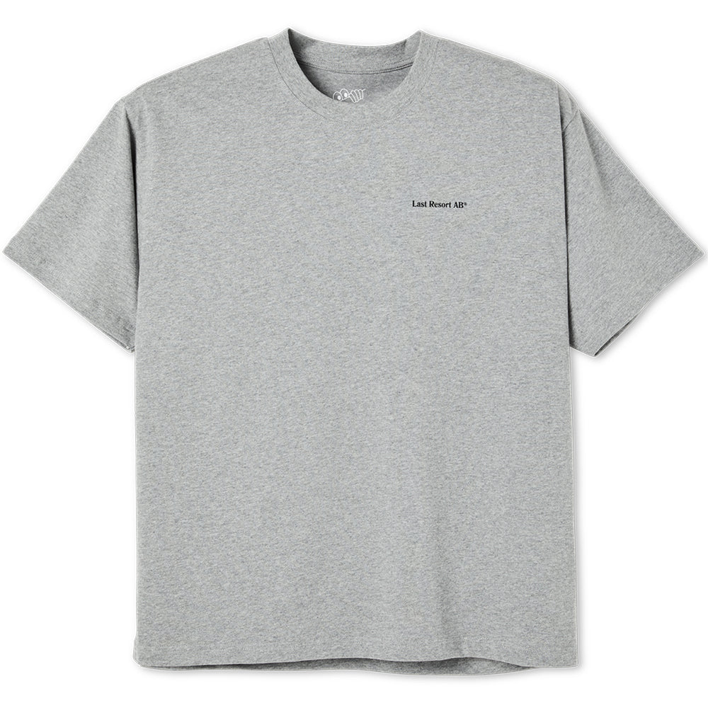 Last Resort AB World Tee heather grey